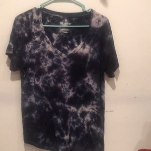 Soft and sexy American Eagle tie dye T-shirt
